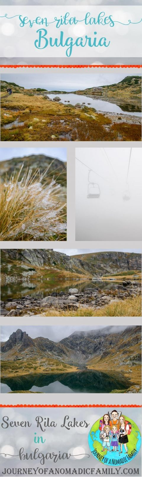 What its like to hike the Seven Rila Lakes in October with icicles forming