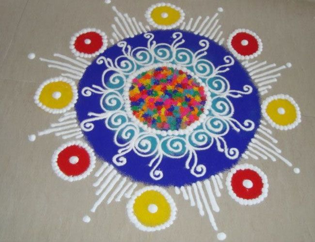 Best Rangoli Designs Images On Pinterest Design Design - 50 best simple rangoli design special diwali wallpapers hd free download
