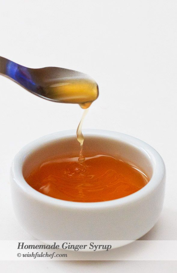 Here's an easy Homemade Ginger Syrup recipe for hot or even cold tea. And your homemade ginger ale.