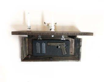 Tejido / oculta caja de arma por JOANSLITTLESOAPCO en Etsy