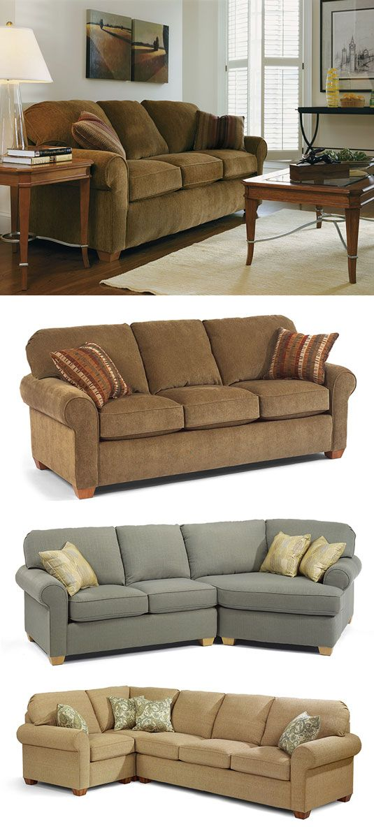 Thornton Sofa By Flexsteel, Available In Many Configurations. Cabin Fever Sofas