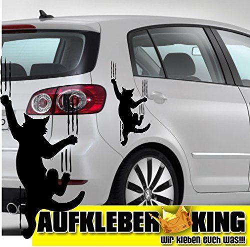 1 Autocollant – Griffes de chat , autocollants ca.30x20cm , autocollants , autocollants, lunette arrière , peinture , tatouage