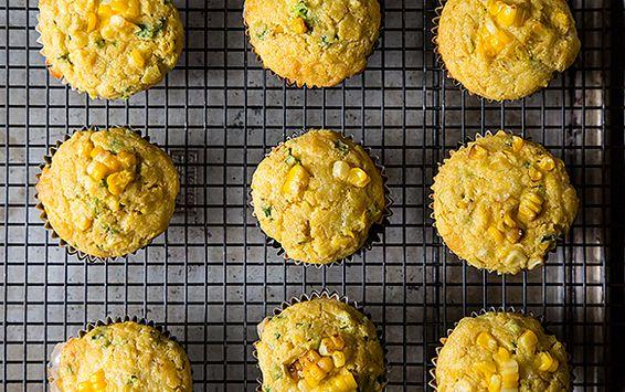 Double Corn, Quinoa & Cheddar Muffins Recipe | Food Recipes - Yahoo Shine