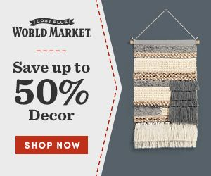 Cost Plus World Market promo code - up to 50% off home decor