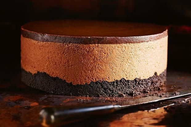 Chocolate mousse cake, recipe by Donna Hay