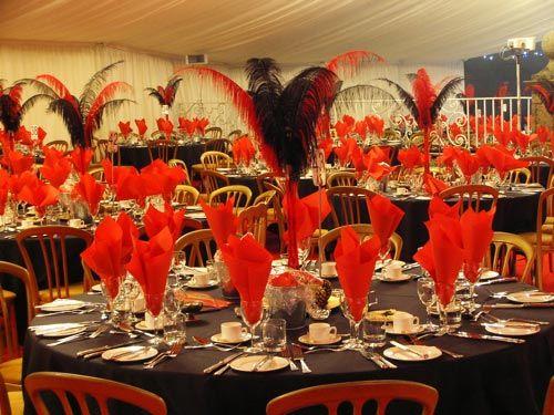Decoração de A a Z: Festa Moulin Rouge...Ideias