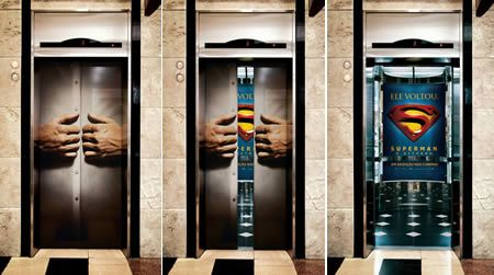 10 clever elevator ads...oh I wish I could of done something like this a few weeks ago!