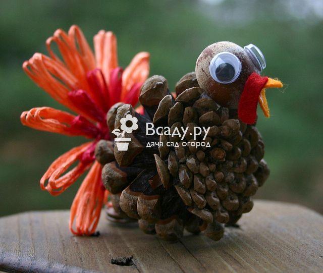 Мастер-класс по созданию индейки-поделки ко Дню Благодарения, с фото