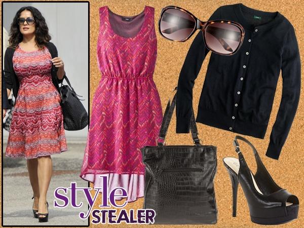 Style Stealer: Salma Hayek's European Glamour