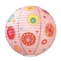 Colourful fantasy - Paper lantern - Little Big Room by Djeco, Discover all the Little Big Room decoration items for child's bedroom.