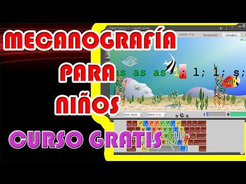 Mecanografía Para Niños Curso De Mecanografía Para Niños Gratis Youtube Clase De Informática Enseñanza Aprendizaje Informatica Y Computacion