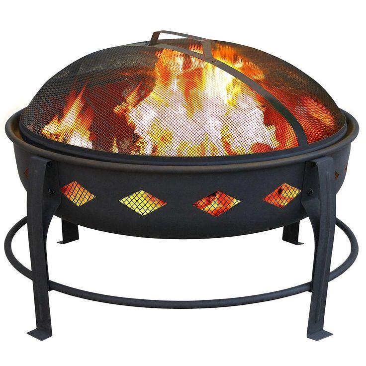 Home Decor Outdoor Landmann USA Bromley Fire Pit, Black #LANDMANN