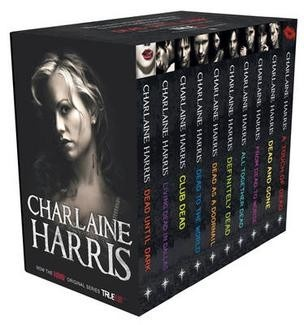 The Sookie Stackhouse Novels, or, the Southern Vampire Series, by Charlaine Harris; the books that inspired Alan Ball to create True Blood!