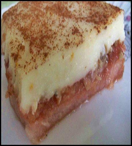Bisküvili Elma Tatlı