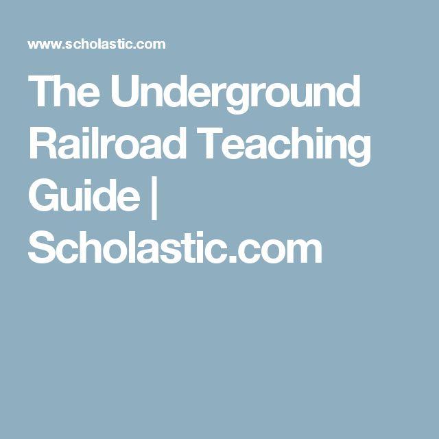 The Underground Railroad Teaching Guide | Scholastic.com