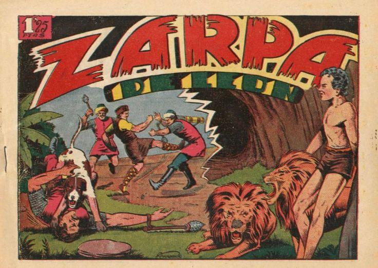 Zarpa de león 1 ediciones Toray 1949