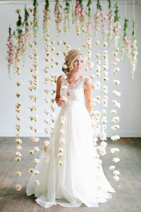 Lindsey Orton Photography carnation hanging flowers