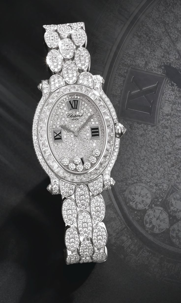 Chopard ~ Diamond Watch at Sotheby's