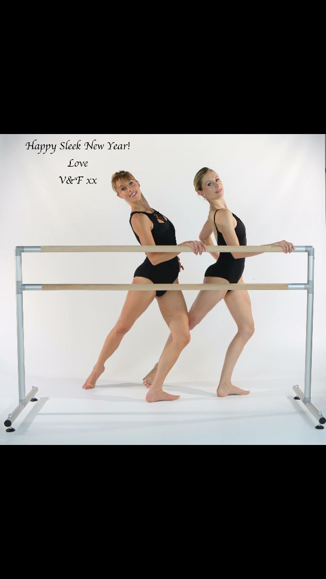 Happy New Sleek year x #ballet #fitness #barre #ballerina #dance #workout