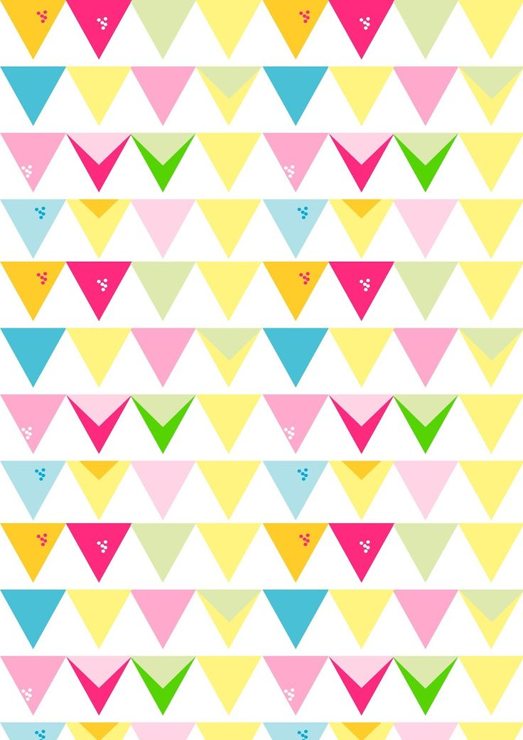 FREE printable summer party pattern paper