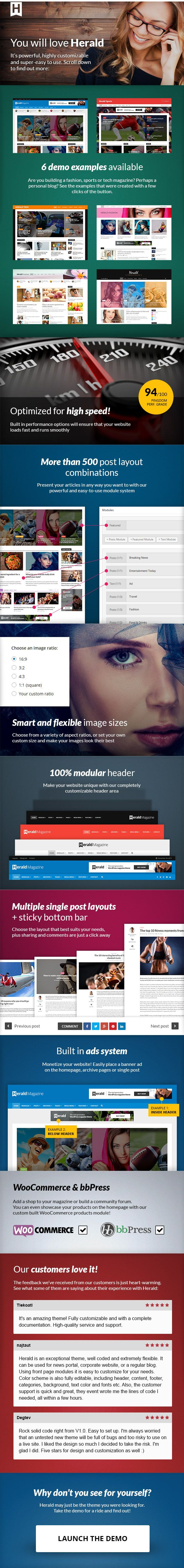 Herald - News Portal & Magazine WordPress Theme - WordPress | ThemeForest