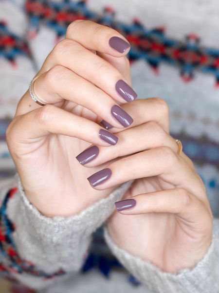 China Glaze Below Deck a pretty medium mauve