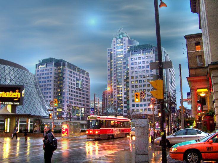 Canada's City that Never Sleeps,  King Street Theatre District Toronto