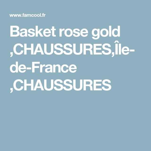 Basket rose gold ,CHAUSSURES,Île-de-France ,CHAUSSURES