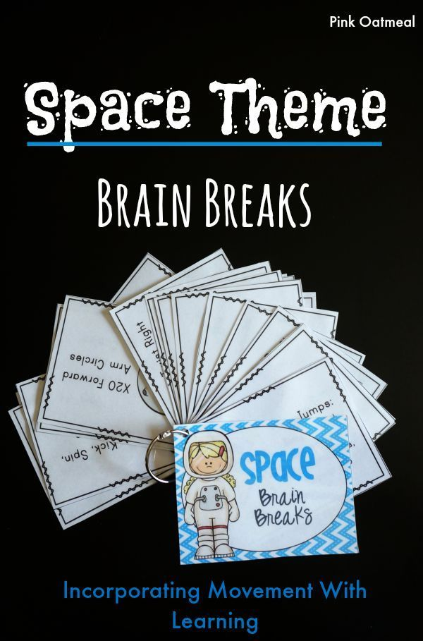 Brain breaks with a space theme!  Perfect for any space unit but can be used all year round as well.  Moving and learning is a must!