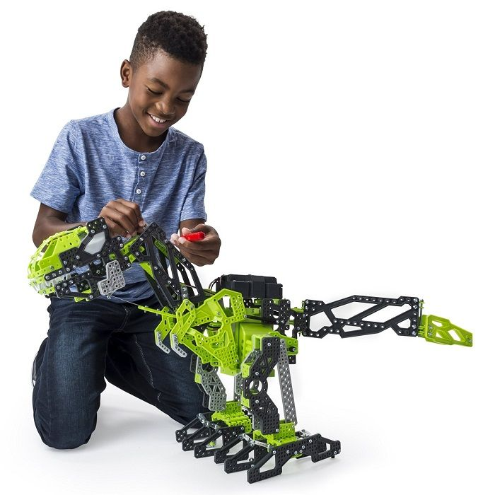 Meccano Meccasaur Review - http://www.kidsdimension.com/meccano-meccasaur/ A programmable robotic dinosaur toy for kids age 10+.