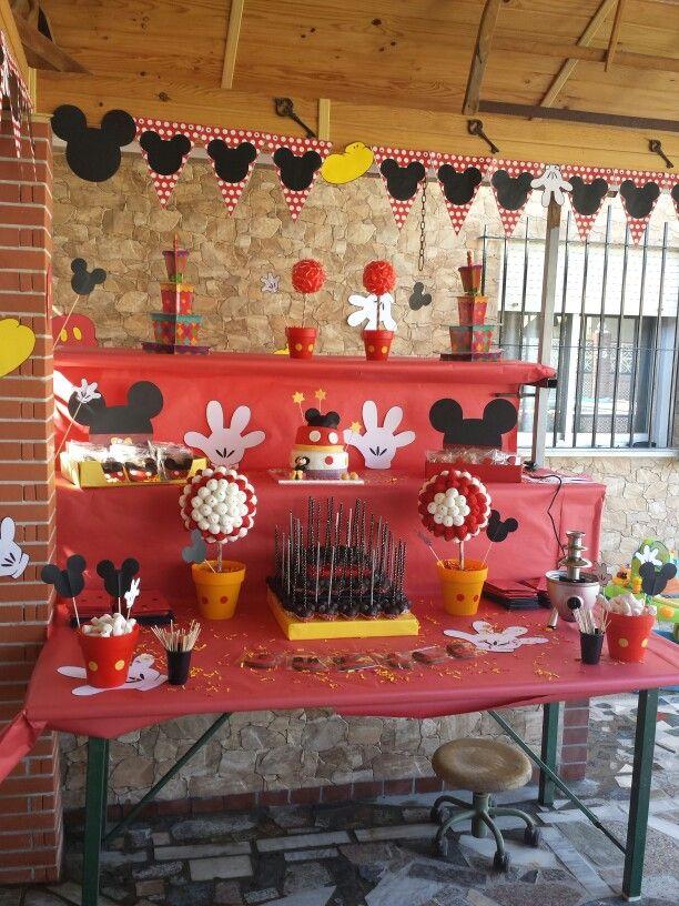 decoracion fiesta infantil mickey