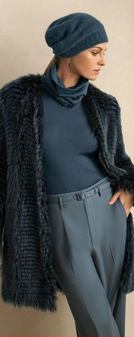 Ralph Lauren Pre-Fall 2013...glad to see the return of pleated slacks for women. A classic look I love.