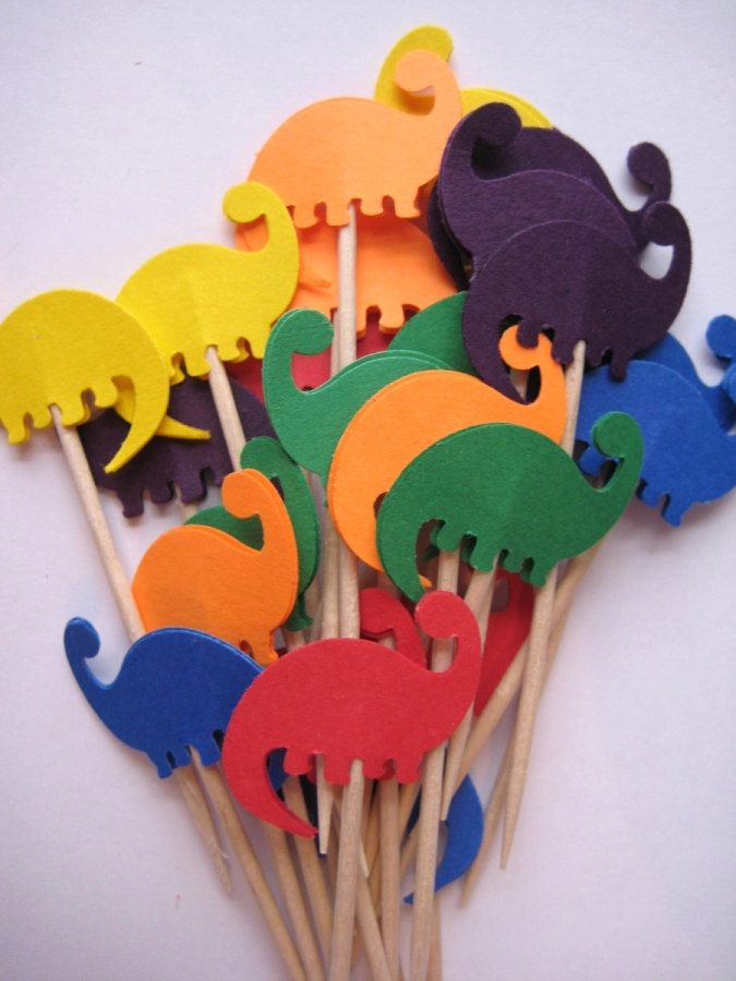 DIY party picks...$2. for 24...but how do i make these?