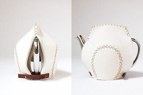 Original funda para tetera #manualidades #decoracion
