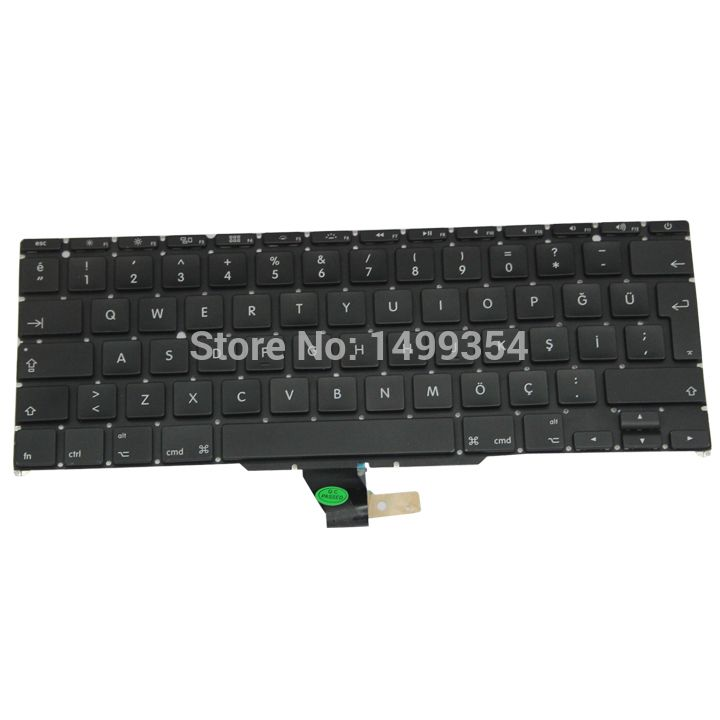 New A1370 A1465 Turkey Turkish Keyboard For Apple Macbook Air 11'' A1465 A1370 Keyboard Turkey Standard 2011-2015 #Affiliate