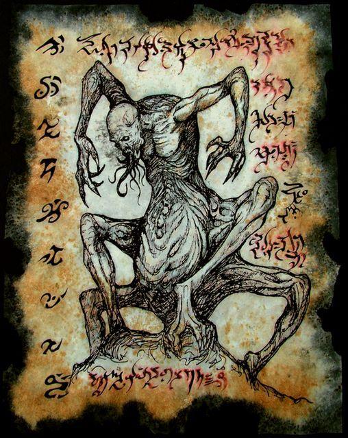 Dark Hp Art Lovecraft