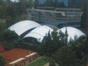 domo tipo burbuja utilizado para cubrir grandes dimensiones