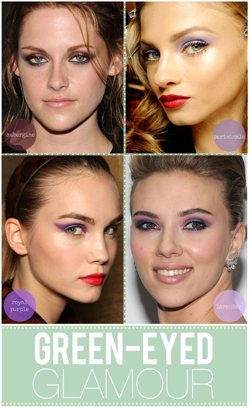 makeup for green eyes: Eye Colors, Green Eyed Girls, Eye Girls, Tbd Green, Green Eye Makeup, Green Eyes Makeup, Makeup Eyeshadows, Eyeshadows Ideas, Purple Eye