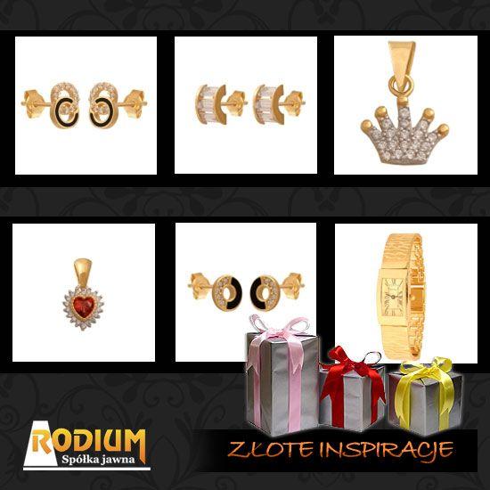 Złoto, złota biżuteria idealnym prezentem pod choinkę.