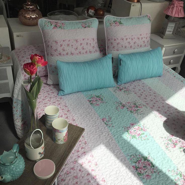 Colchas recién llegadas #novedad #home #bedroom #homedecor #homestyle #homesweethome #deco #decoracion #interiorismo #design #style #colcha http://ift.tt/2sn9vw4