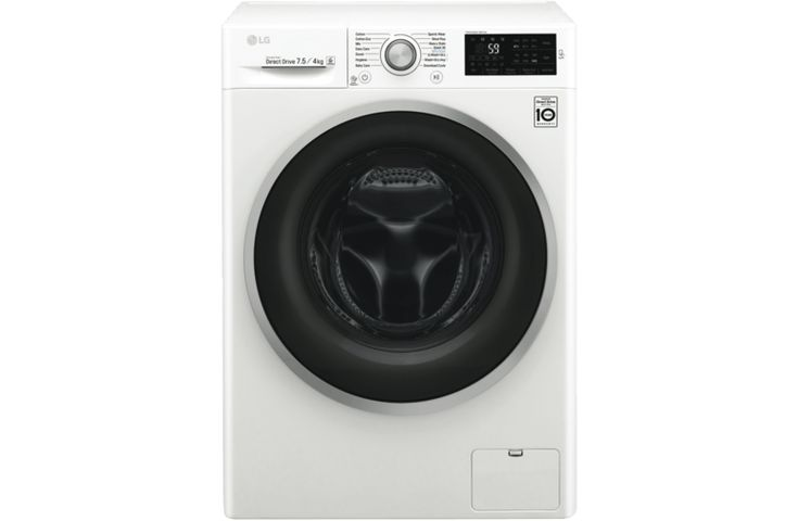 LG WDC1475NCW 7.5kg Washer / 4kg Dryer Combo at The Good Guys