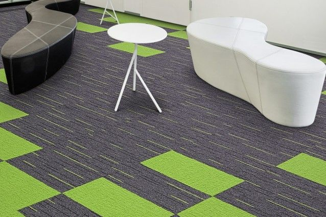 Mixture from the Zipline carpet tile range from Carpets Inter. Available in Australia from Above Left.