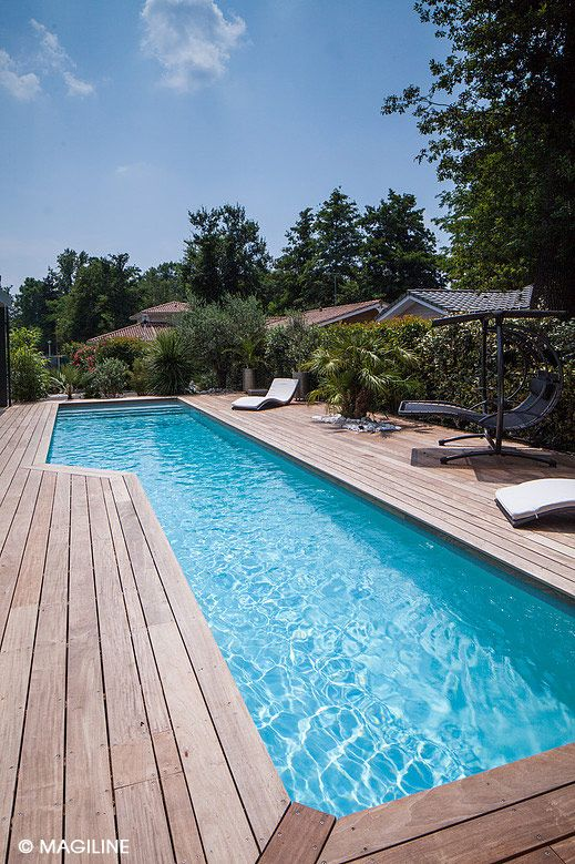 78 best La #PISCINE idéale pour ma villa images on Pinterest - Exemple Devis Construction Maison