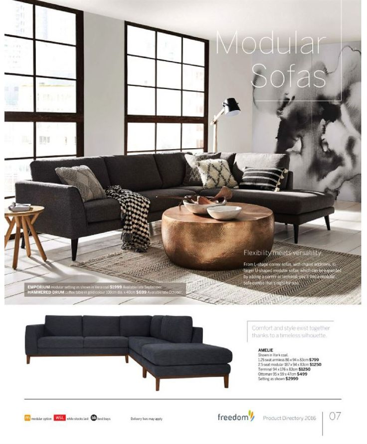 Catalogue of offers from Freedom Furniture