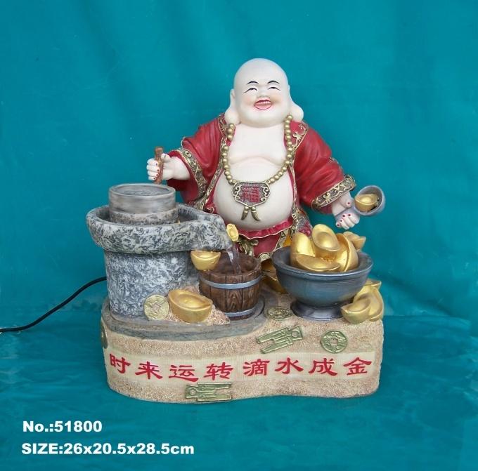 Buddha Water Fountain by Feng Shui Wealth