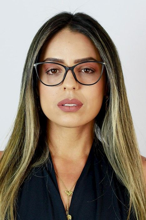 f757990d8f1fc Óculos de Grau Ma Chérie Palermo Gatinho Quadrado Preto