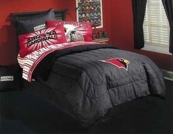 Arizona cardinals nfl ii bedding boys bedding pinterest