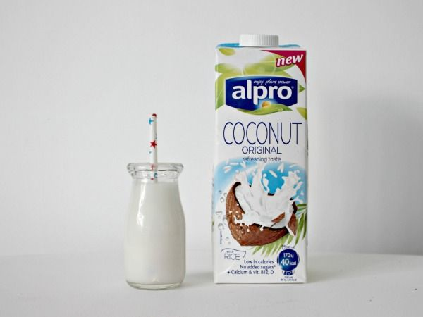 A holiday taste alpro coconut a holiday milk and holiday for Alpro coconut cuisine