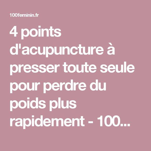 Exceptionnel Les 25 meilleures idées de la catégorie Acupuncture pour maigrir  JU95