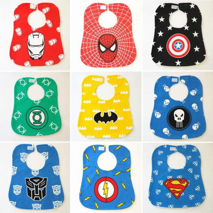 New Superhero Baby Kid Feeding Bibs Waterproof Apron Dribble Saliva Towel Velcro - http://baby.goshoppins.com/feeding/new-superhero-baby-kid-feeding-bibs-waterproof-apron-dribble-saliva-towel-velcro/